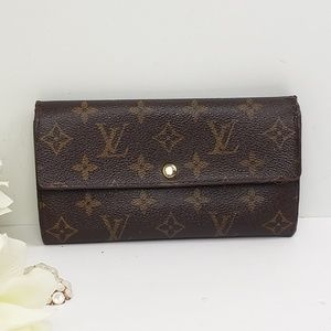 Authentic Louis Vuitton Portefeuille Sarah